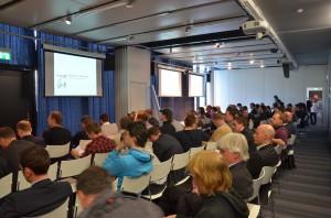 Rund 120 Teilnehmer waren zum AdSense Publisher-Event gekommen