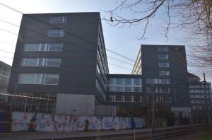 Das von außen unscheinbare Google-Gebäude in der Züricher Brandschenkestraße