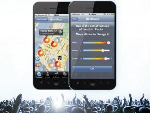 Mit der innovativen, kostenlosen HeatMapz-App haben Sie das Nachtleben live am Handy